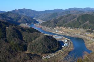 島根県美郷町の風景