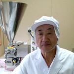 山形県酒田 土田さん・・・BONE&PIECEなど弊社商品の8割近くを製造してもらっています。